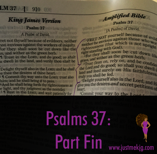 Psalm 37 - Part Fin - The Godparent